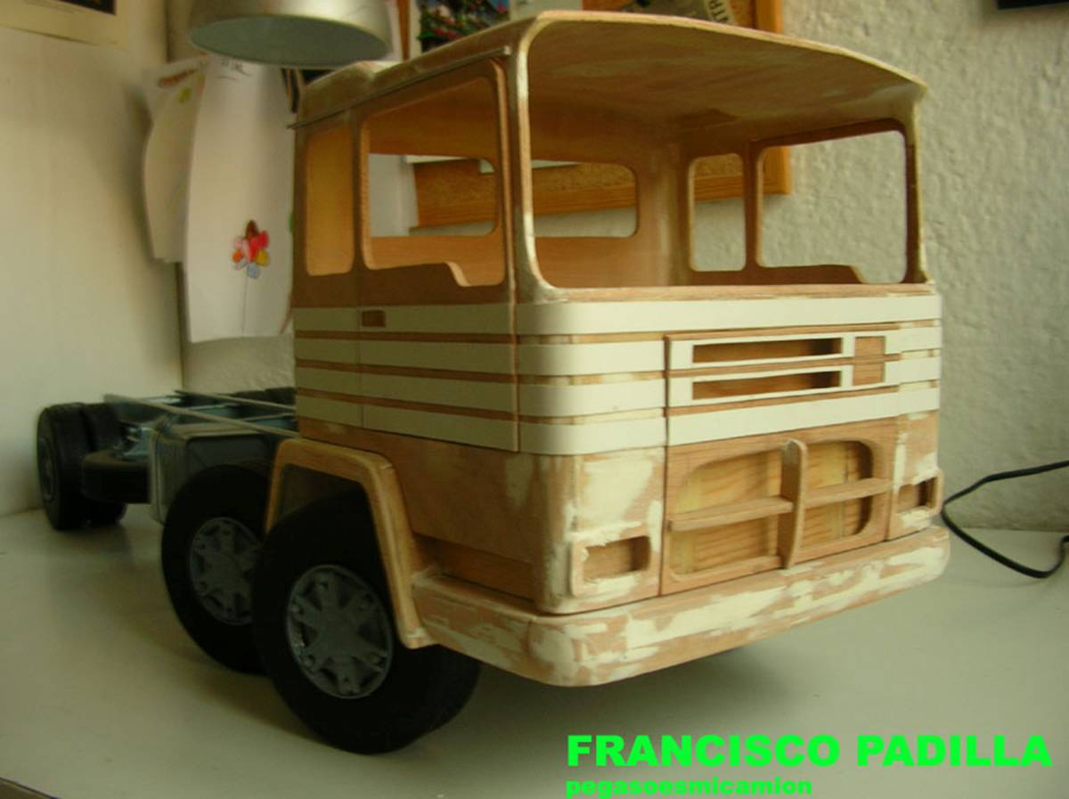 Soy francisco padilla apasionado de los camiones desde - Francisco padilla ...