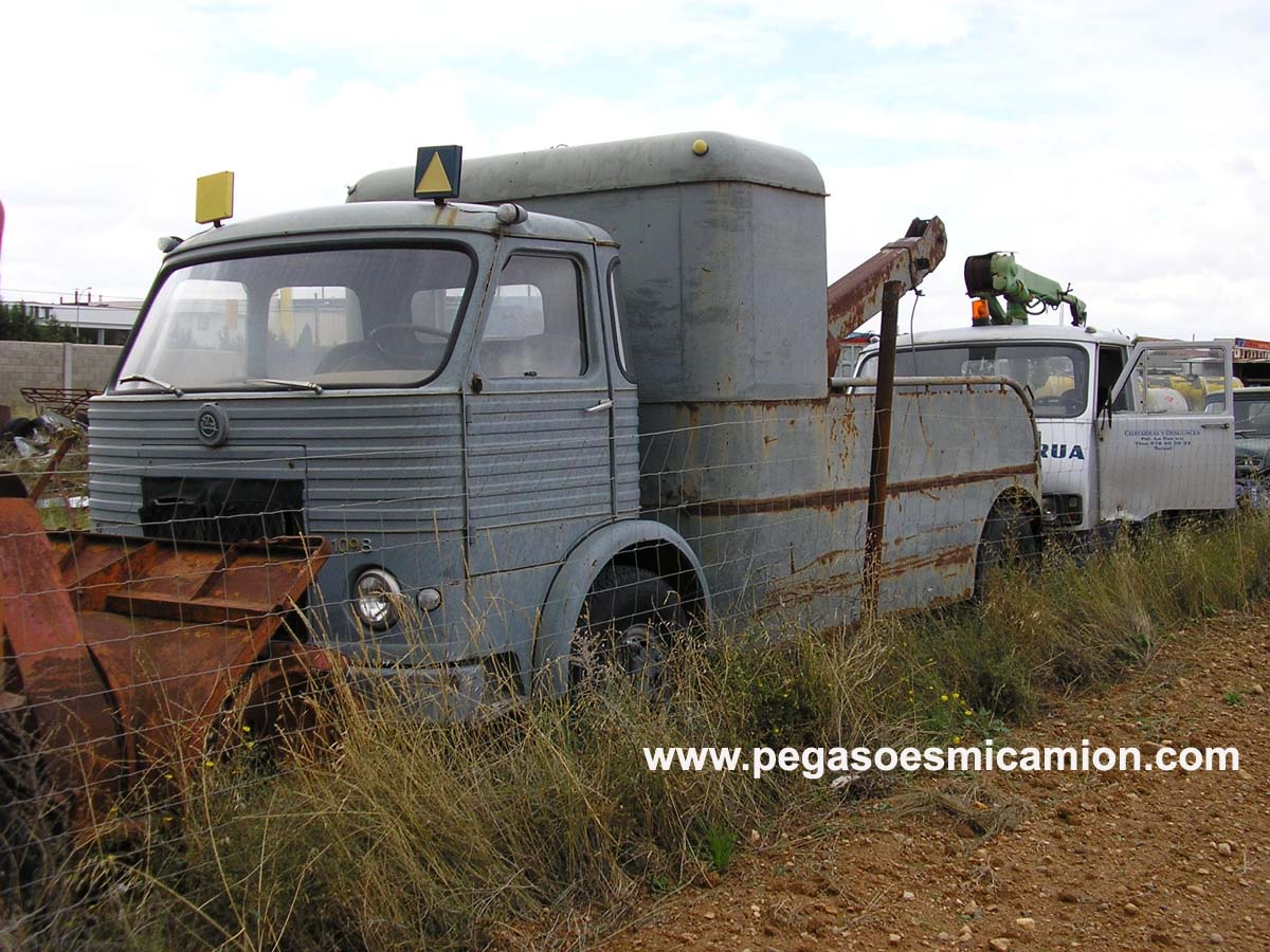 Pegaso 1098 Grua En Teruel